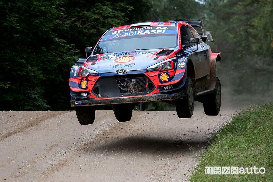 WRC Rally Estonia 2020 Ott Tanak Hyundai
