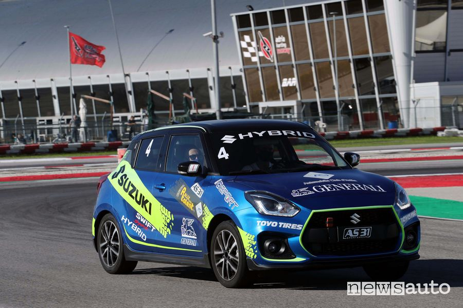 Suzuki Swift Sport all'Aci Rally Italia Talent 2020 ad Adria
