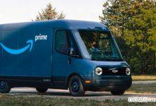 """Photo of Furgone elettrico """"Amazon Delivery Van"""" per consegna rapida ordini"""