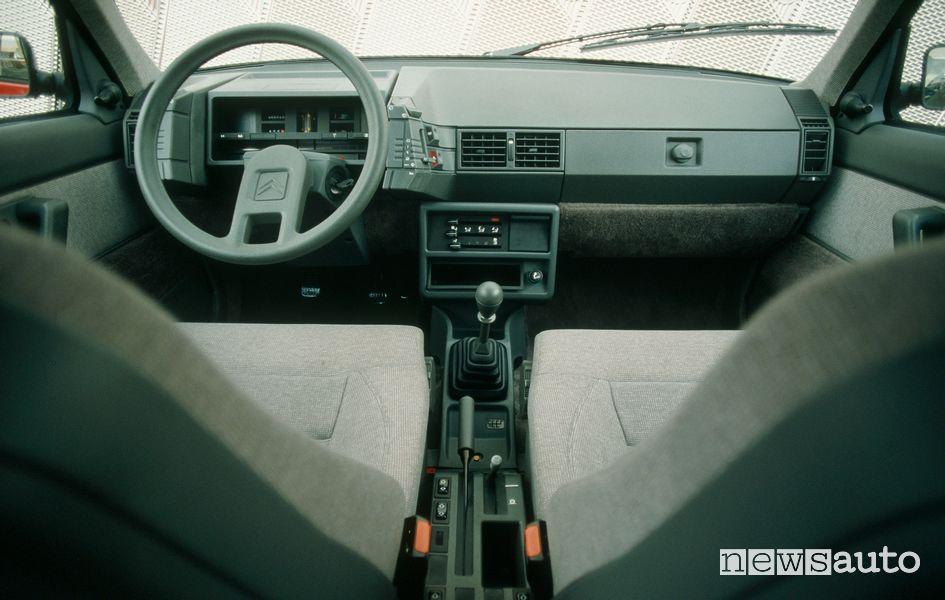 Abitacolo Citroën BX 16