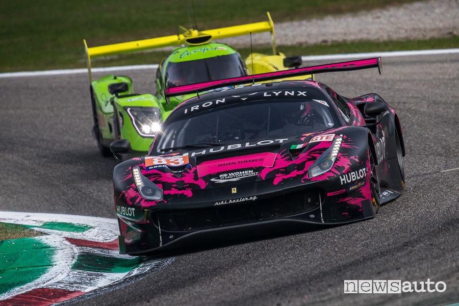 ELMS 4 Ore di Monza 2020 Ferrari 488 GTE Iron Linx Terza di categoria (team tutto femminile)