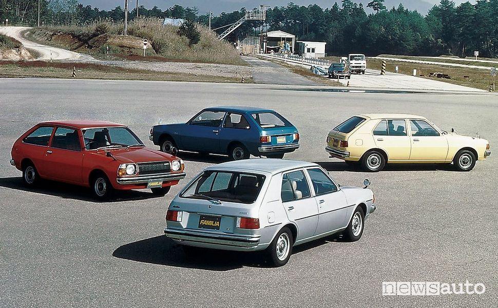 Mazda Familia AP, 1977