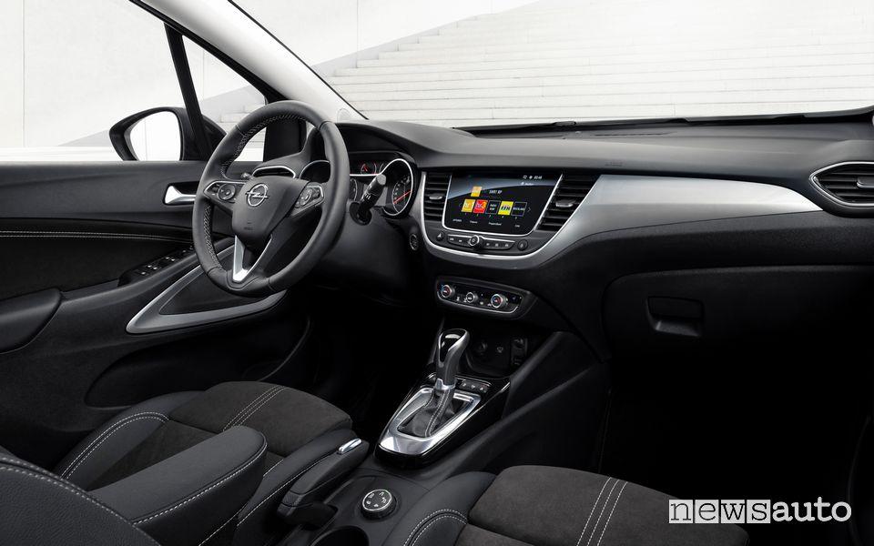 Plancia strumenti abitacolo nuovo Opel Crossland