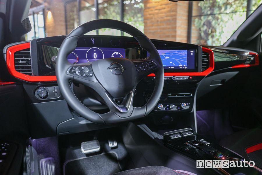 Volante abitacolo nuova Opel Mokka