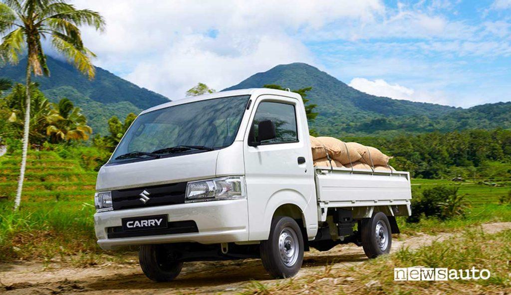 Suzuki Carry HD Dump Truck 4X4 il più piccolo autocarro ribaltabile del mondo
