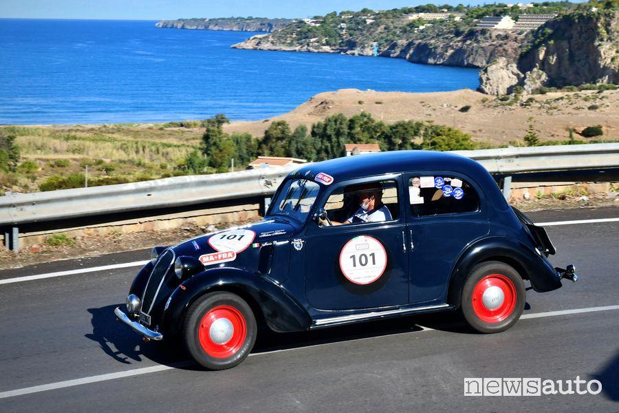 Passanante/Di Mauro su Fiat 508C del 1937 alla Targa Florio Classica 2020
