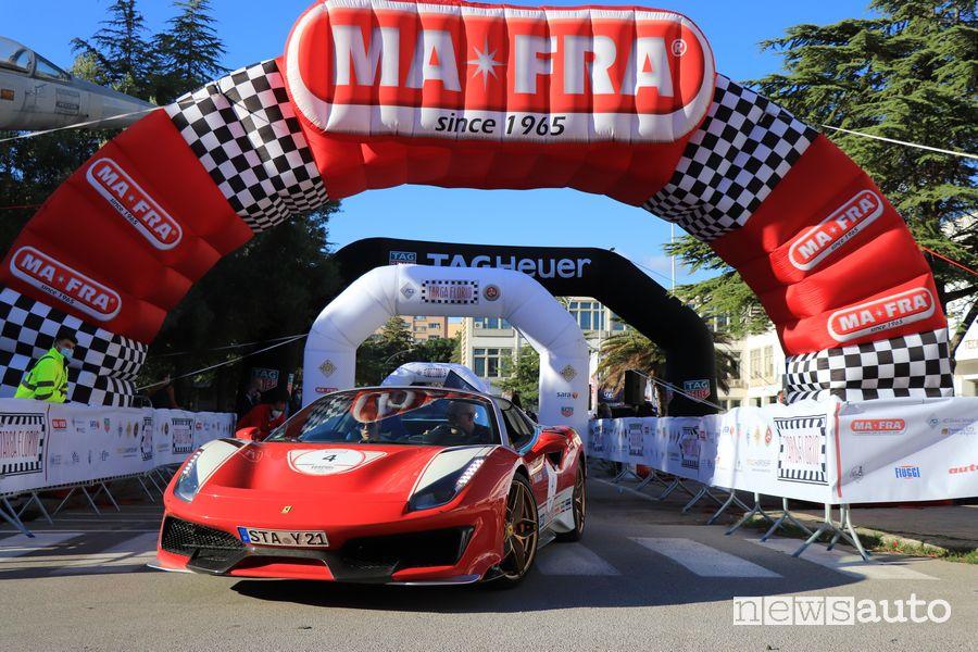 Ferrari Tribute alla Targa Florio Classica 2020