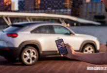 Photo of Ricaricare e riscaldare l'auto elettrica Mazda MX-30, con l'app MyMazda