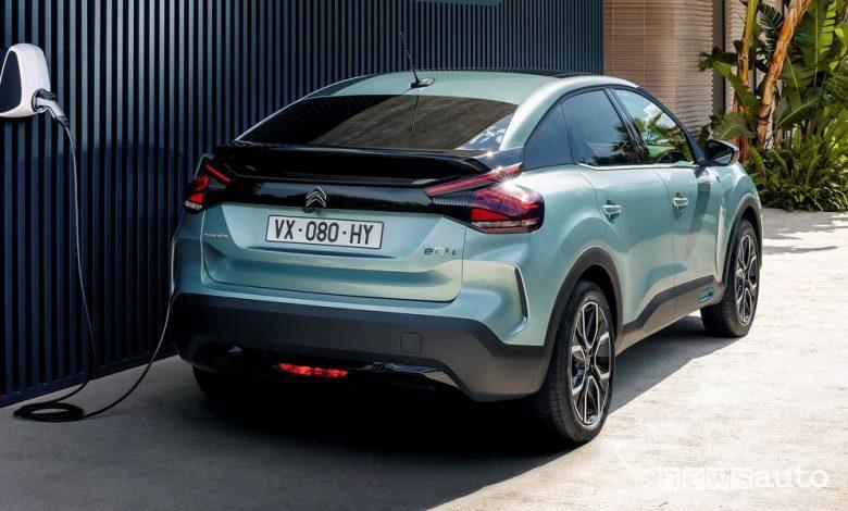 Citroën ë-C4 elettrica, anteprima al Milano Monza Motor Show 2020