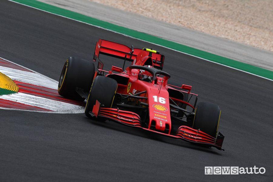 F1 Gp Portogallo ferrari charles leclerc