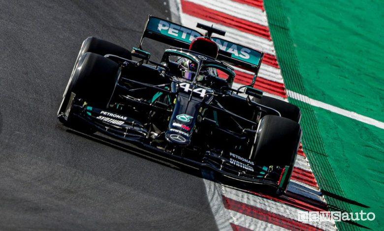 Qualifiche F1 Gp Portogallo, la griglia di partenza
