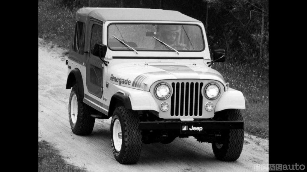 Jeep Renegade anno 1979 - 1980  (fuoristrada storico, auto storica)