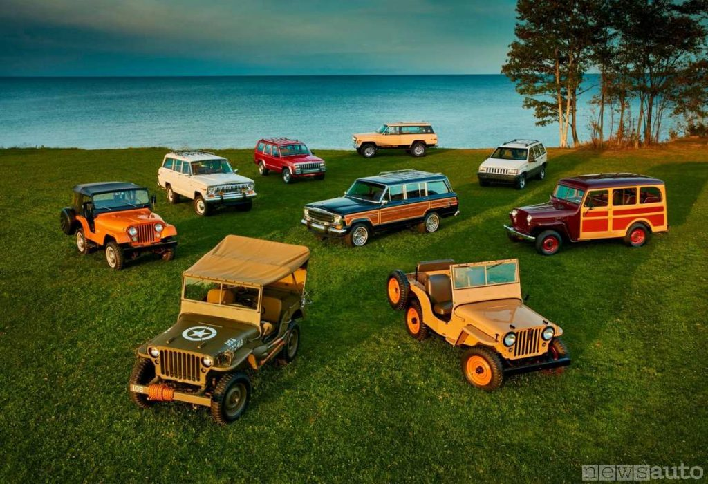 Modelli Jeep, la storia in occasione dei primi 70 anni del marchio