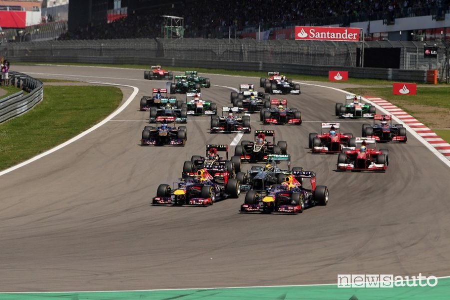 F1 Gp Eifel 2020 sul circuito del Nürburgring