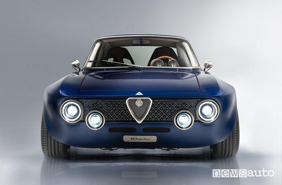 Frontale Alfa Romeo GT elettrica
