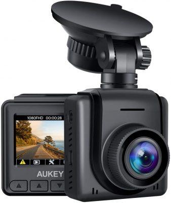 Mini Dash Cam 1080p FHD Telecamera per Auto con Schermo LCD
