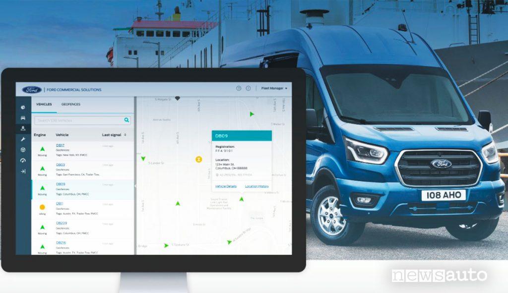 Ford Telematics e Ford Telematics Drive per la gestione di furgoni e veicoli commerciali
