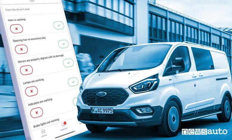 Ford Telematics gestione flotte furgoni
