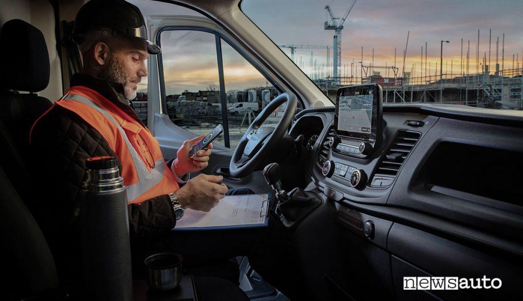 Ford Telematics Drive, app per gli autisti di furgoni