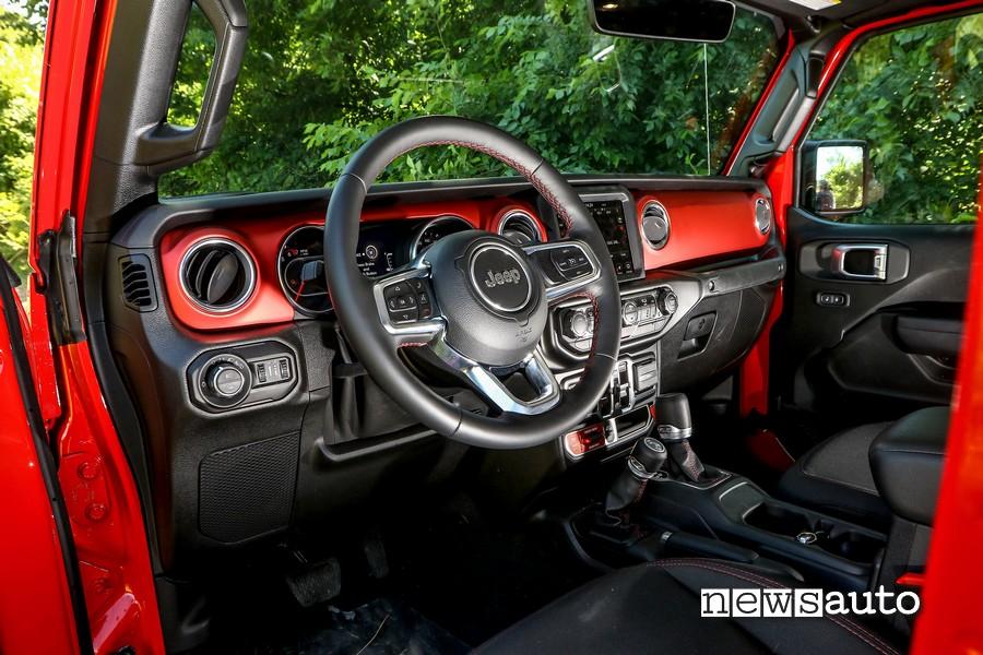 volante abitacolo jeep rubicon gladiator