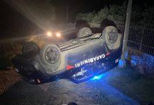 Photo of Scaglia la ruspa contro la Jeep dei Carabinieri