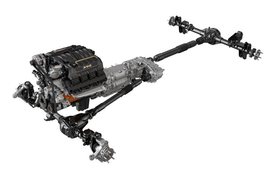Trasmissione trazione integrale Jeep Wrangler Rubicon 392