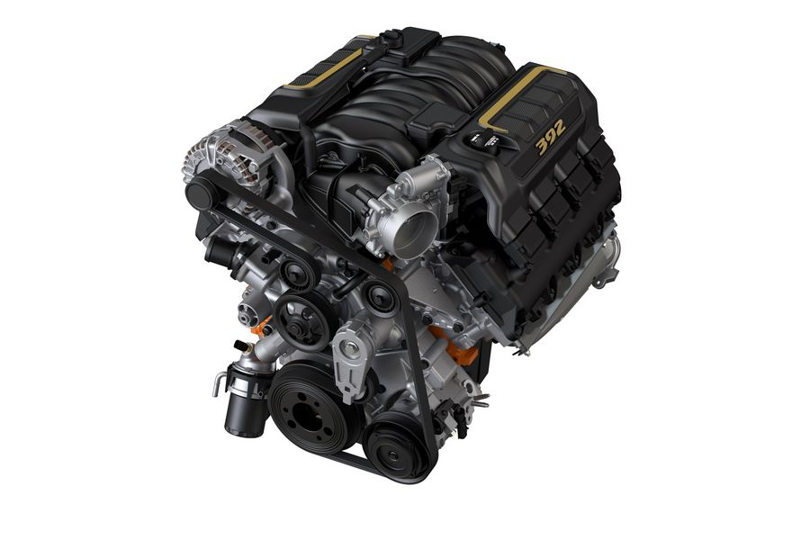 Motore V8 Jeep Wrangler Rubicon 392