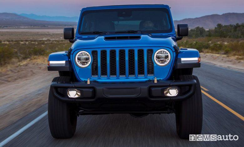 Griglia 7 feritoie Jeep Wrangler Rubicon 392