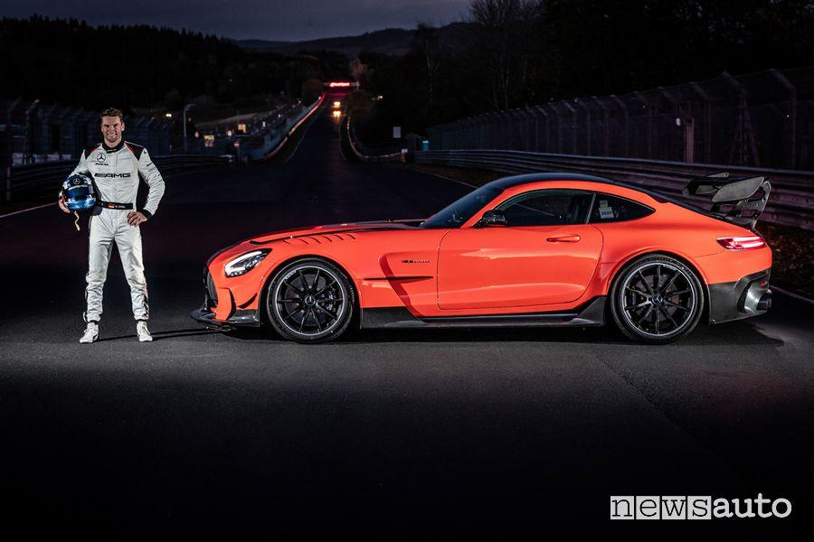Mario Engel record al Nurburgring con la Mercedes-AMG GT Black Series