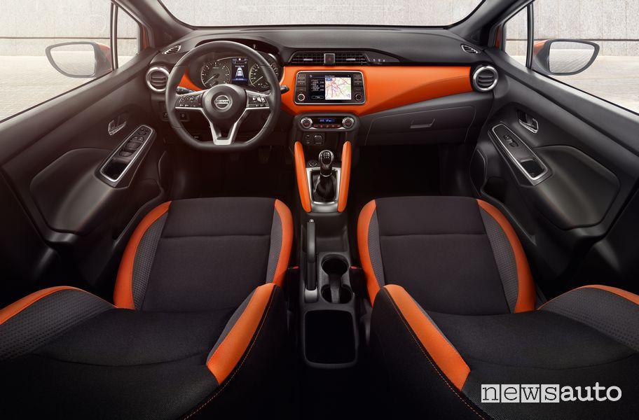 Plancia strumenti abitacolo Nissan Micra Tekna 2021