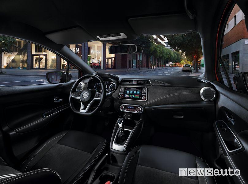 Plancia strumenti abitacolo Nissan Micra N-Design 2021