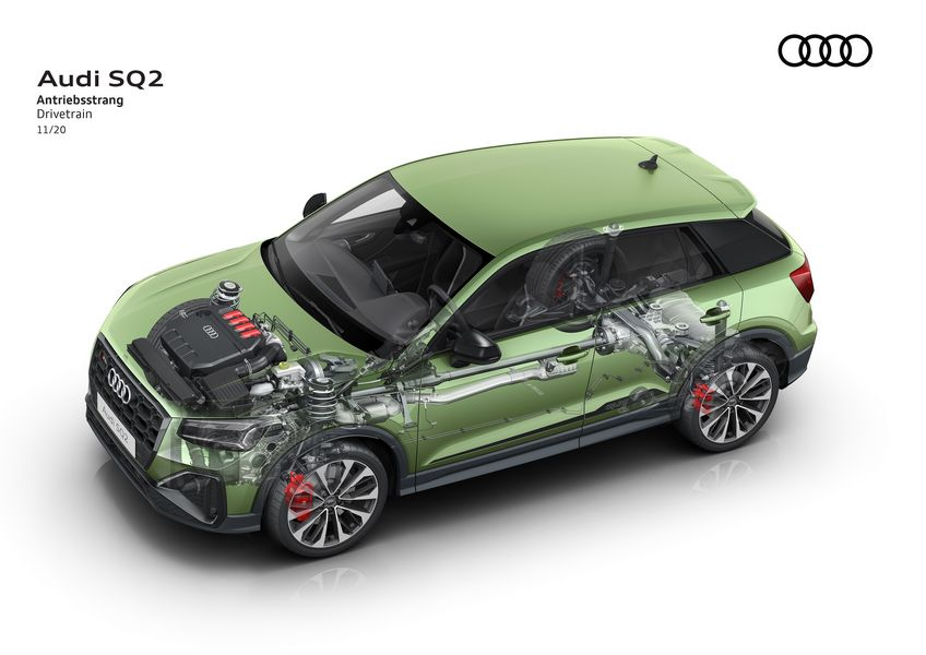 Caratteristiche tecniche Audi SQ2