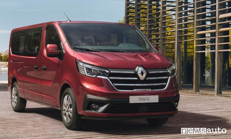 Photo of Renault Trafic, Passenger e SpaceClass con restyling 2021