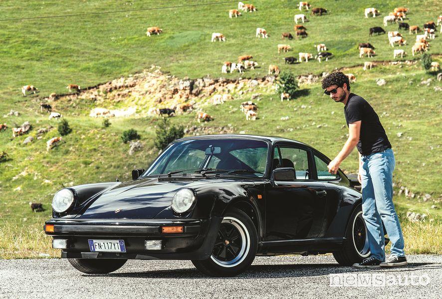 Davide Cironi e la Porche 911 Turbo