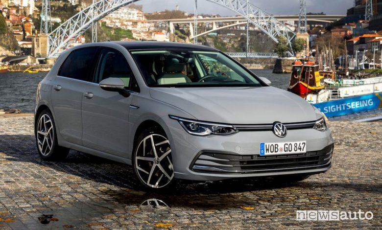 Volkswagen Golf 8, caratteristiche e prezzi nuovi motori eTSi e TDI