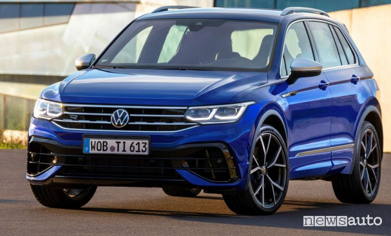 Volkswagen Tiguan R, SUV sportivo, caratteristiche