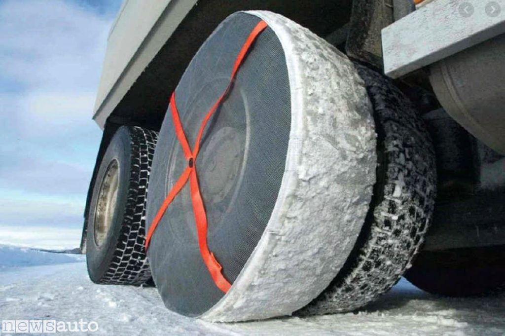Calze da neve per camion