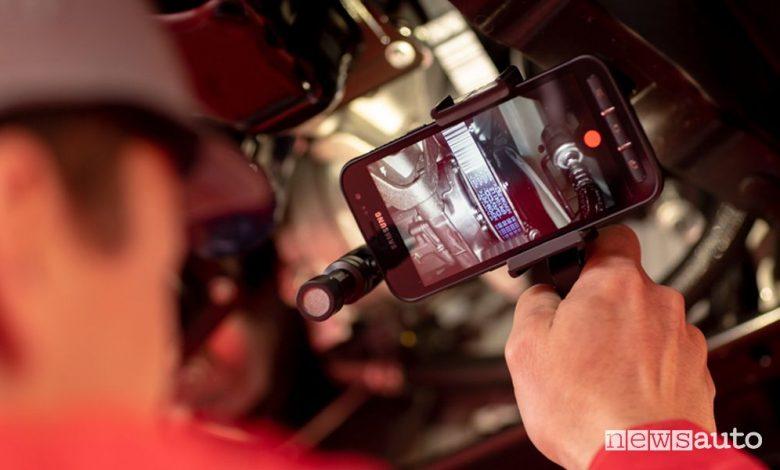 Assistenza e manutenzione Citroën, videocheck sullo smartphone