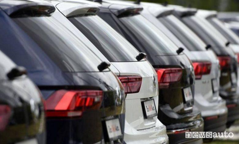 Mercato auto gennaio 2021