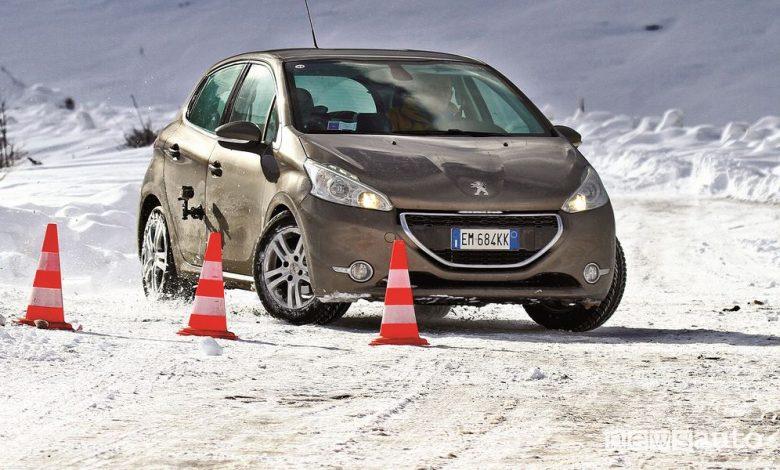 Differenza pneumatici invernali, estivi, test verità sulla neve e sul ghiaccio
