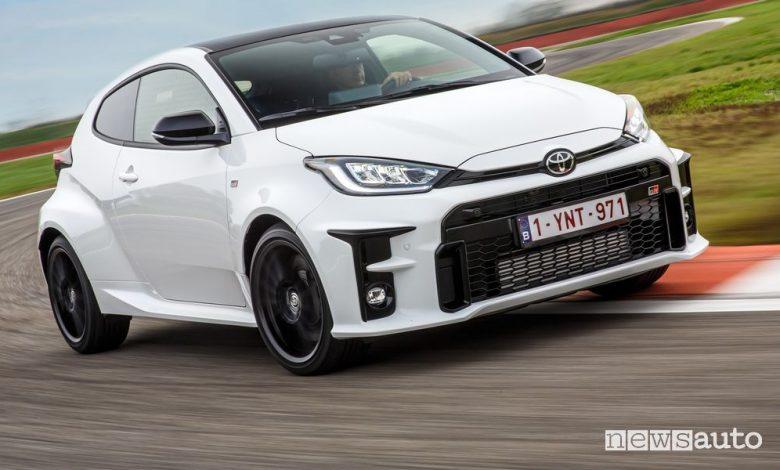 Record Toyota GR Yaris al Nürburgring