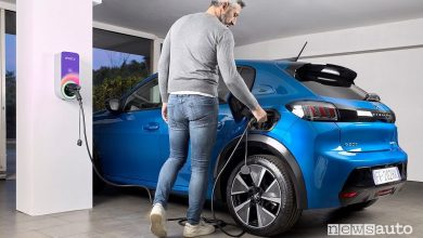 Photo of Ricarica domestica, wallbox inclusa con una Peugeot elettrica o ibrida plug-in