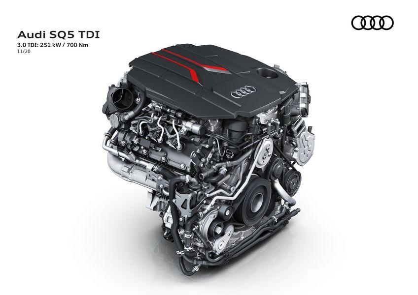 Motore 3.0 TDI Audi SQ5 TDI