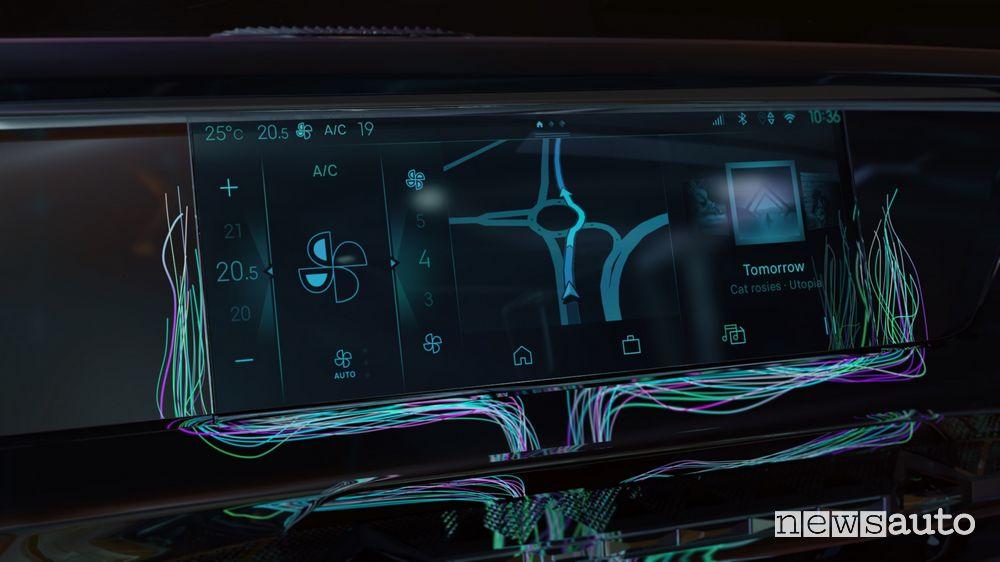 Nuovo infotainment DS Iris System