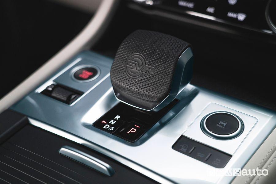 Leva cambio automatico abitacolo Jaguar F-Pace SVR