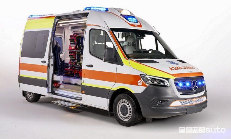 Ambulanza Mercedes-Benz Sprinter con allestimento Olmedo