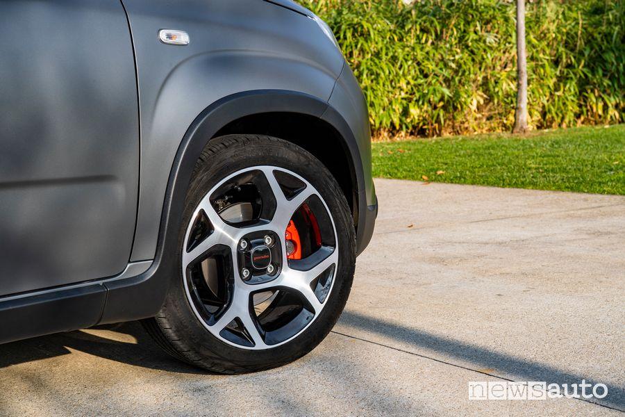 """Cerchi in lega da 16"""" Fiat Panda Sport"""