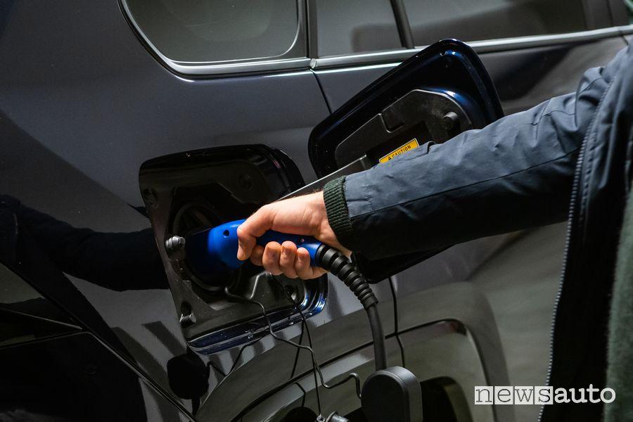 Presa di ricarica con cavo di tipo 2 Suzuki Across Plug-in