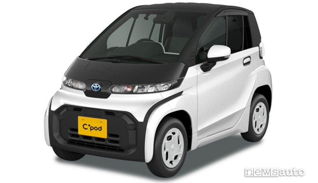 Toyota C+Pod veicolo elettrico ultracompatto