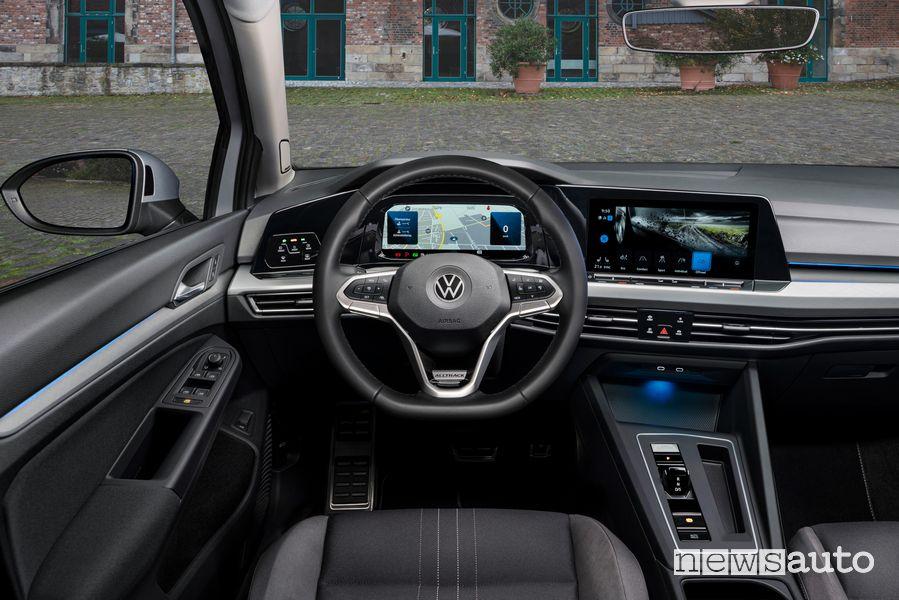 Plancia strumenti abitacolo Volkswagen Golf Alltrack